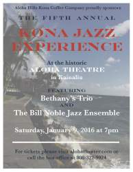 5th Kona Jazz Experience